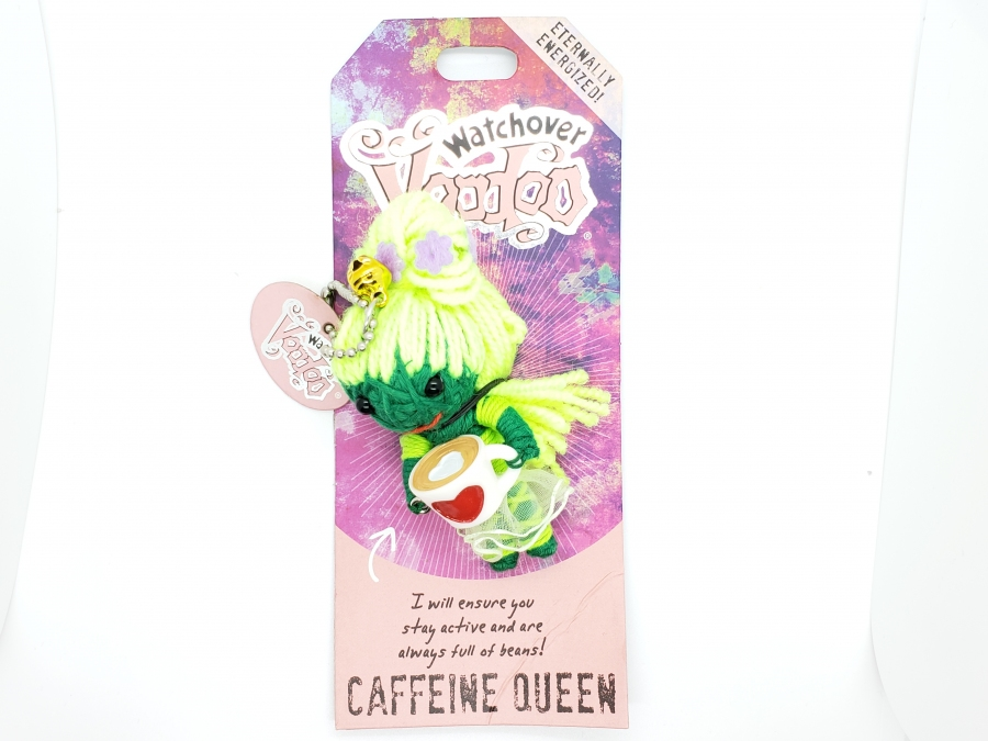Watch Over Voodoo Doll -  Caffeine Queen