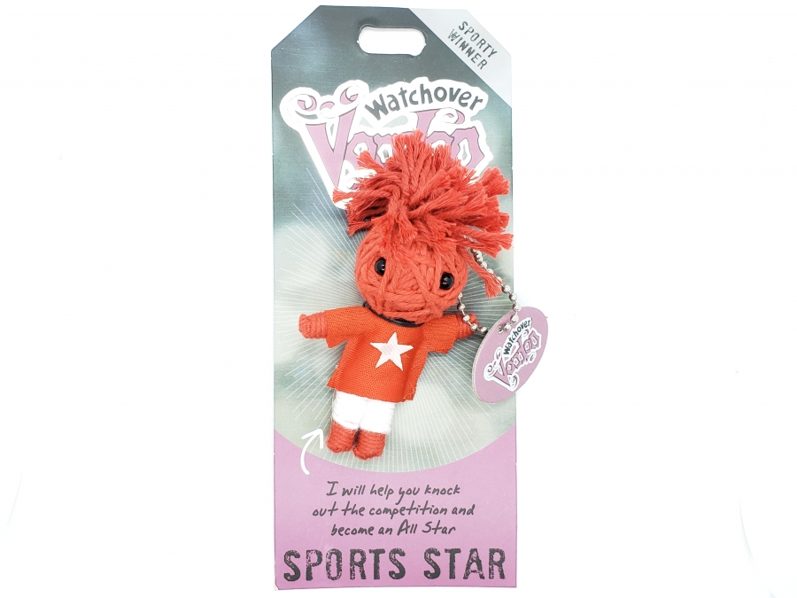 Watch Over Voodoo Doll -  Sports Star