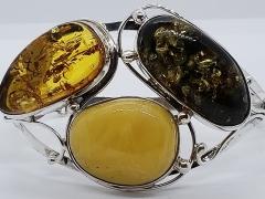 Amber Tri-Color Bracelet