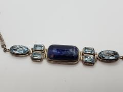 Kynite & Blue Topez Bracelet