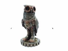 Steam Punk Figure - Owl (Large)